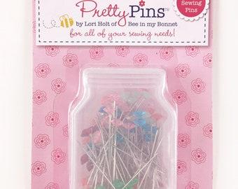 Sewing Pins - Lori Holt Pins - Pretty Pins Decorative Sewing Pins - Pins for Sewing