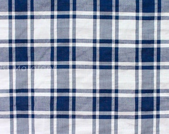 Japanese Fabric - yarn dyed textured cotton - C - 50cm