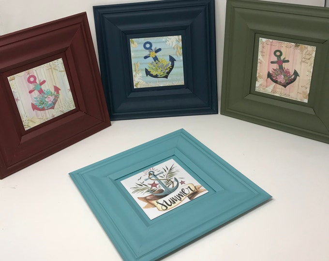 Handmade wood and Metal Frame, Accent Wall, Farmhouse, Southern Decor, One Frame endless possibilities, A new twist on Home Decor,