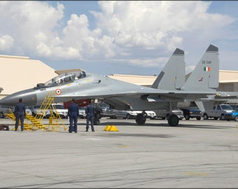 Poster, Many Sizes Available; Indian Air Force Nellis Red Flag2