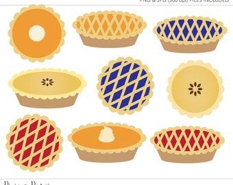 Commercial Use Clipart, Commercial Use Clip Art, Pie Clipart, Pie Clip Art, Pumpkin Pie Clipart, Commercial License, Commercial Clipart