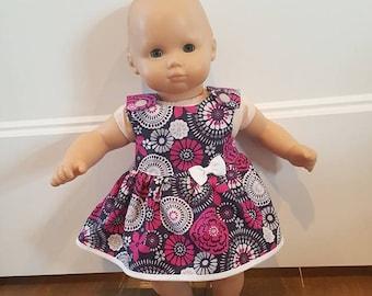 Bitty Baby Bitty Twin Doll Clothes - Purple Dress
