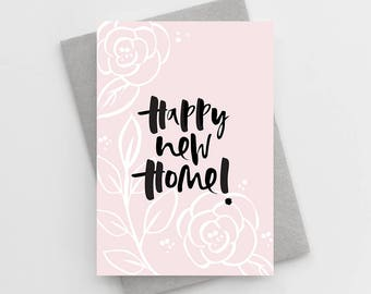 Happy New Home Card - New House Card - Moving Home Card - You Are Moving House Card - New Home Card