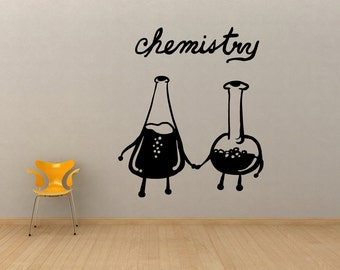 Vinyl Wall Decal Sticker Chemistry OSMB590B