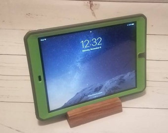 Walnut Tablet and Phone Stand