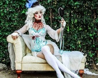 Steampunk Corset - Marie Antoinette Corset - Royal Corset - Gothic Corset