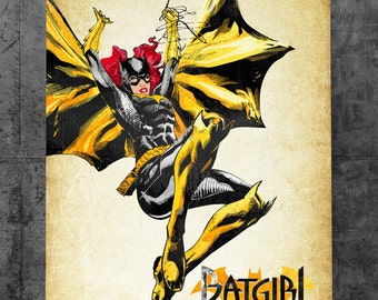 Batgirl - Barbara Gordon Metal Plate