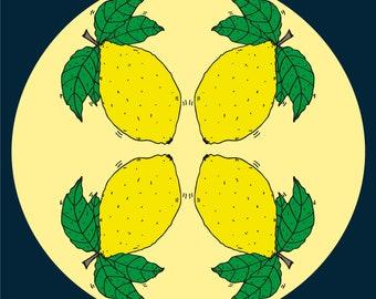 When Life Gives You Lemons A3 digital print