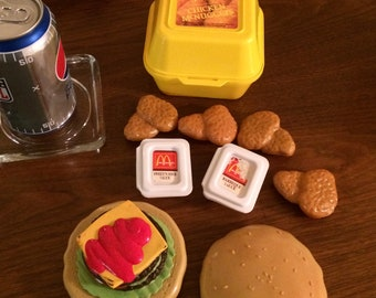 Fisher Price McDonalds Chicken Nuggets and Hamburger