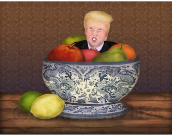 Still Life with The Donald Print