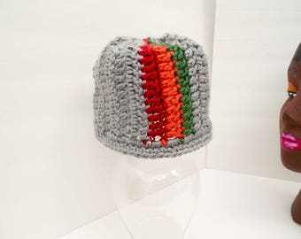 Color Splash Beanie, Warm Fall Infant Hat