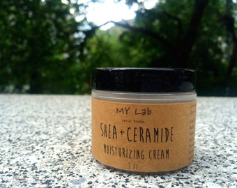 Ceramide + Shea Butter Lotion | Face Cream | Anti aging | Sensitive - Baby - Dry Skin | Handmade | Mothers Day Gift | Gift for Her