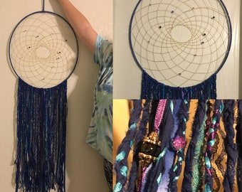 Custom Dreamcatcher - 19 inch hoop