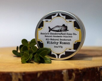 Witchy Woman-All Natural Deodorant