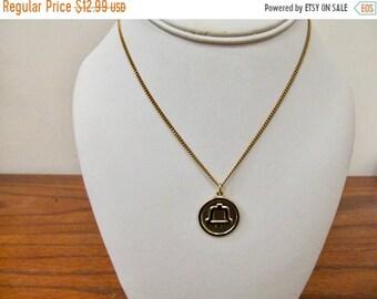 On Sale Vintage 1/20 12kt Gold Filled Bell Telephone Necklace Item K # 2126