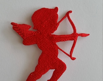 Cupid Iron on Patch 5.5x6cm
