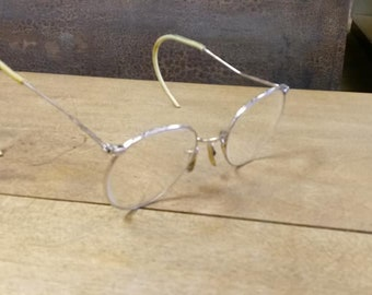 Vintage 12K Gold Filled Bifocal Eyeglasses