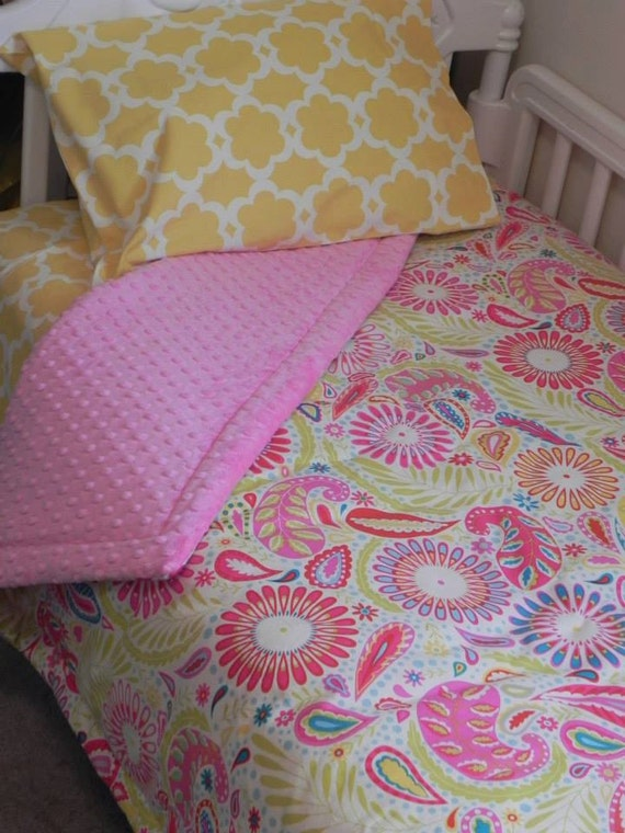 Girls TODDLER Bedding Set Girls 4 or 5Piece Kumari Garden