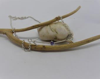 Arrow necklace Silver 925