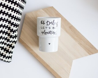 Mug without handle *OH DARLING* 500ml