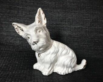 Ceramic Scottie Dog Figurine