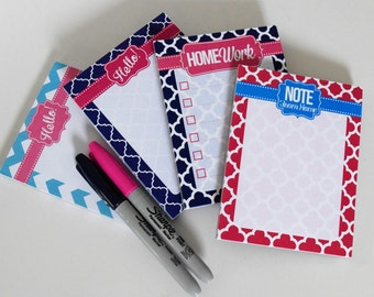 Personalized Memo Pad | List Notepad | Personalized Notepad