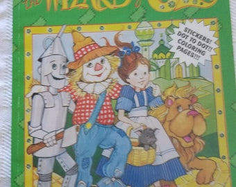 Wizard of Oz coloring book by Landoll