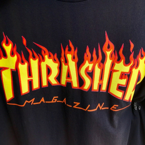 Tharsher Magazine T Shirt Tee Black New by Etsy