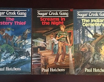 Sugar Creek Gang Paul Hutchens The Mystery Thief, Screams in the Night, The Indian Cemetery