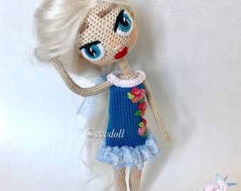 Crochet doll -amigurumi doll