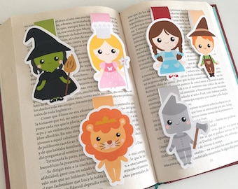 Wizard of Oz Magnetic Bookmark - Wizard of Oz Bookmark