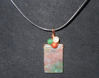Collier Agate