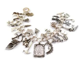 Kate Bush Charm Bracelet - This WOMAN'S WORK - limited edition Etsy uk