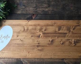 Wood Wedding Guest Book / Alternative Guest Book / Wood Wedding Sign / Rustic Wedding Guest Book / Custom Guest Book / Personalized Book