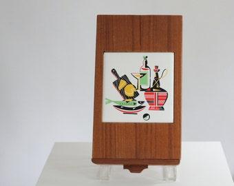 Cutting board cheese tray trivet drawer storage wine set stainless steel wood ceramic insert knife fork opener