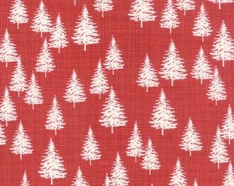 Winterberry Forrest in Berry Yardage - Kate & Birdie - Moda - 13143 17