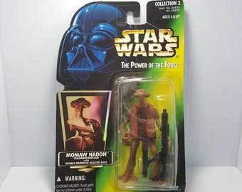 Star Wars Power Of The Force Momaw Nadon Hammerhead Action Figure - Kenner 1996
