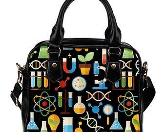 Science Lover / Science Professor /  Science Teacher / Scientist Shoulder Bag/Handbag - Gift For Science Lover/ Science Teacher / Scientist