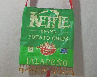 LINED BAG / PURSE, Potato Chip