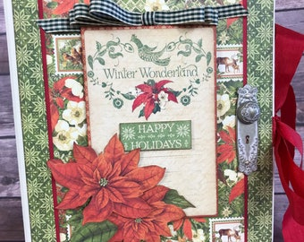 Graphic 45 - Winter Wonderland - Christmas 8x8 Album Kit Class