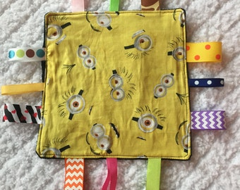 Minions Baby Sensory Toy