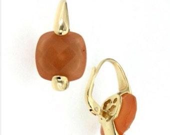 18 carat Gold nude earring