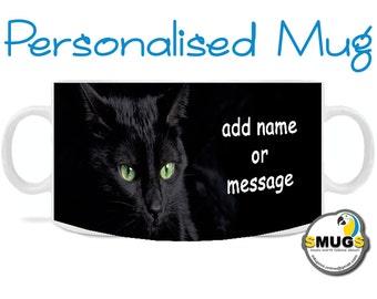 Black Cat Mug.