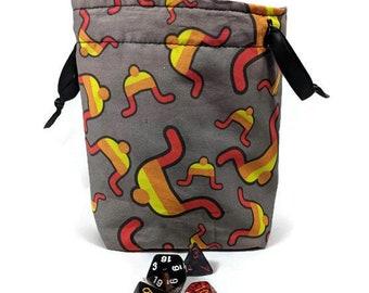 Jayne Hat Dice Bag, Drawstring Pouch, Drawstring Bag, Drawstring Dice Bag, Firefly Dice Bag, Dice Pouch, Firefly Drawstring Bag