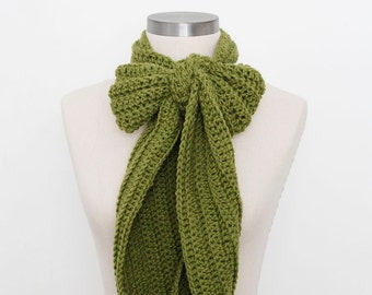 Casual Scarf in Avocado - SALE