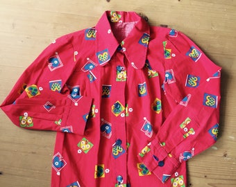 1970s blouse and jacket