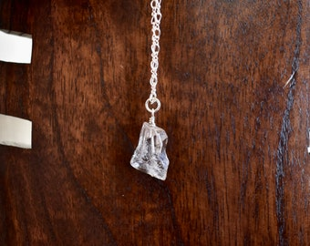 "Herkimer Diamond 16"" Necklace Sterling Silver"