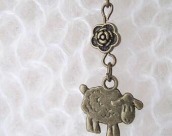 Sheep Stitch Marker G X 1