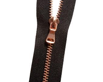 Metal No. 3 Zipper - Copper