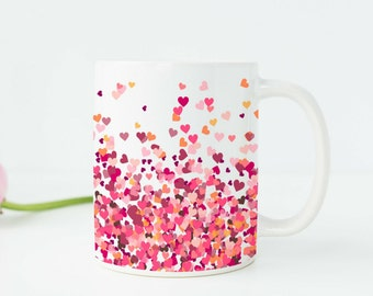 Birthday Gifts for Her Birthday Gift for Daughter Cute Gifts Coffee Mugs for Her Cute Mugs Unique Coffee Mug Gifts Under 20 Heart Mug v311